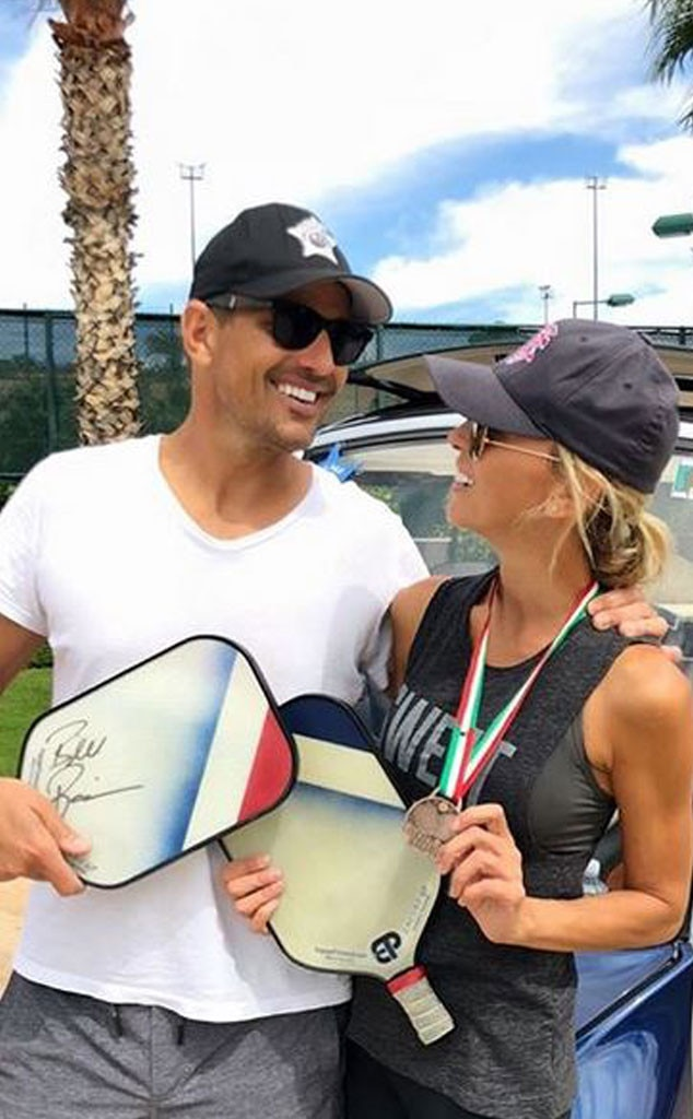 """Pickle Ball Pals -  """"Another win in the books!! Team Rancic! #pickleball @engagepickleball @gariagolfcar"""""""