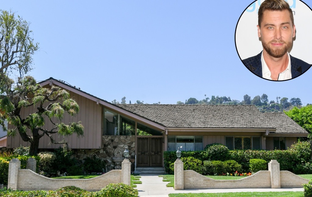 Lance Bass Says Bye, Bye, Bye to The Brady Bunch House