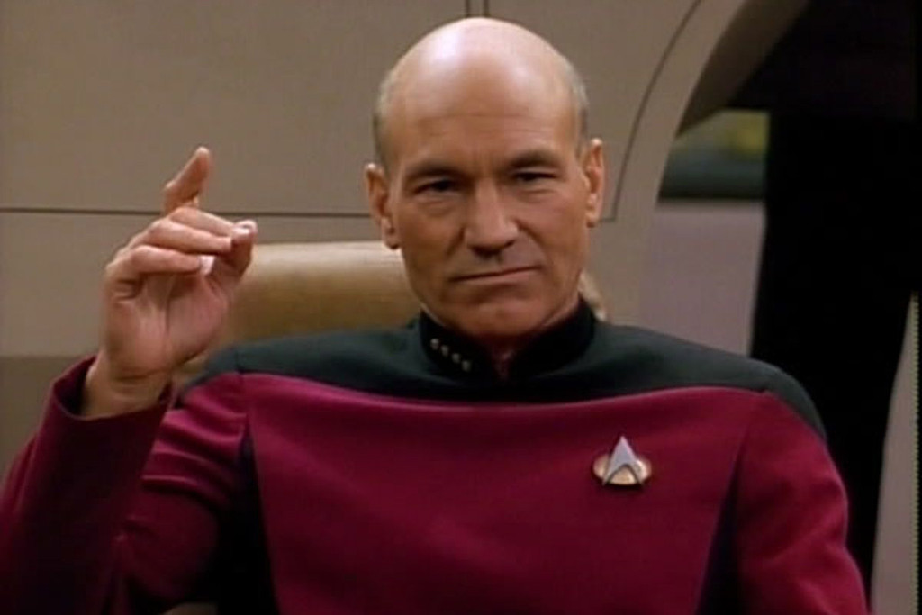 Patrick Stewart, Jean-Luc Picard, Star Trek: The Next Generation