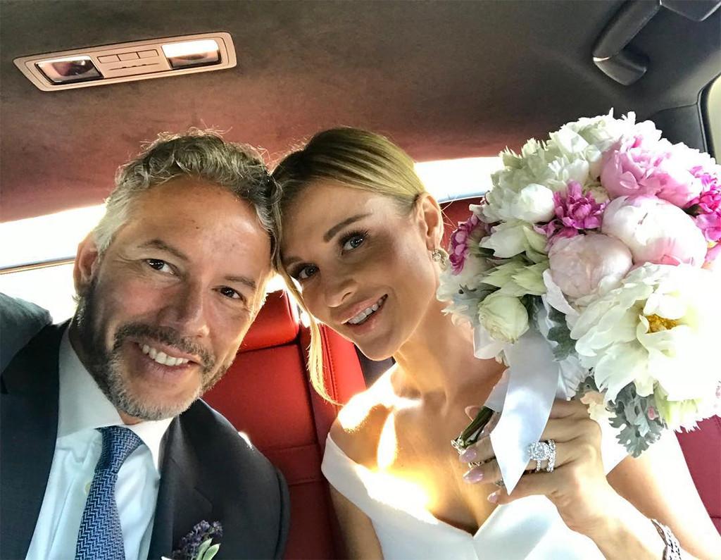Joanna Krupa, Douglas Nunes, Wedding