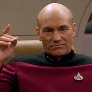 Patrick Stewart, Jean-Luc Picard, Star Trek: The Next Generation
