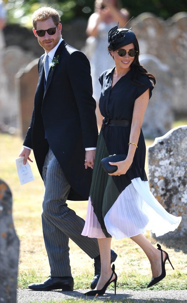 Meghan Markle, Prince Harry, Charlie van Straubenzee and Daisy Jenks Wedding