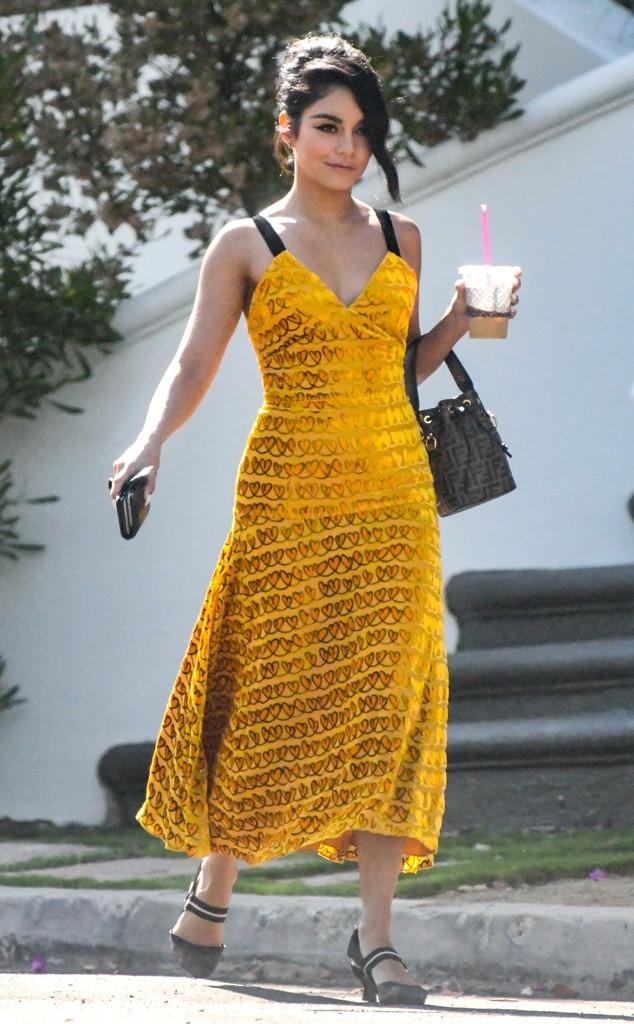 Vanessa Hudgens -  Mellow yellow!
