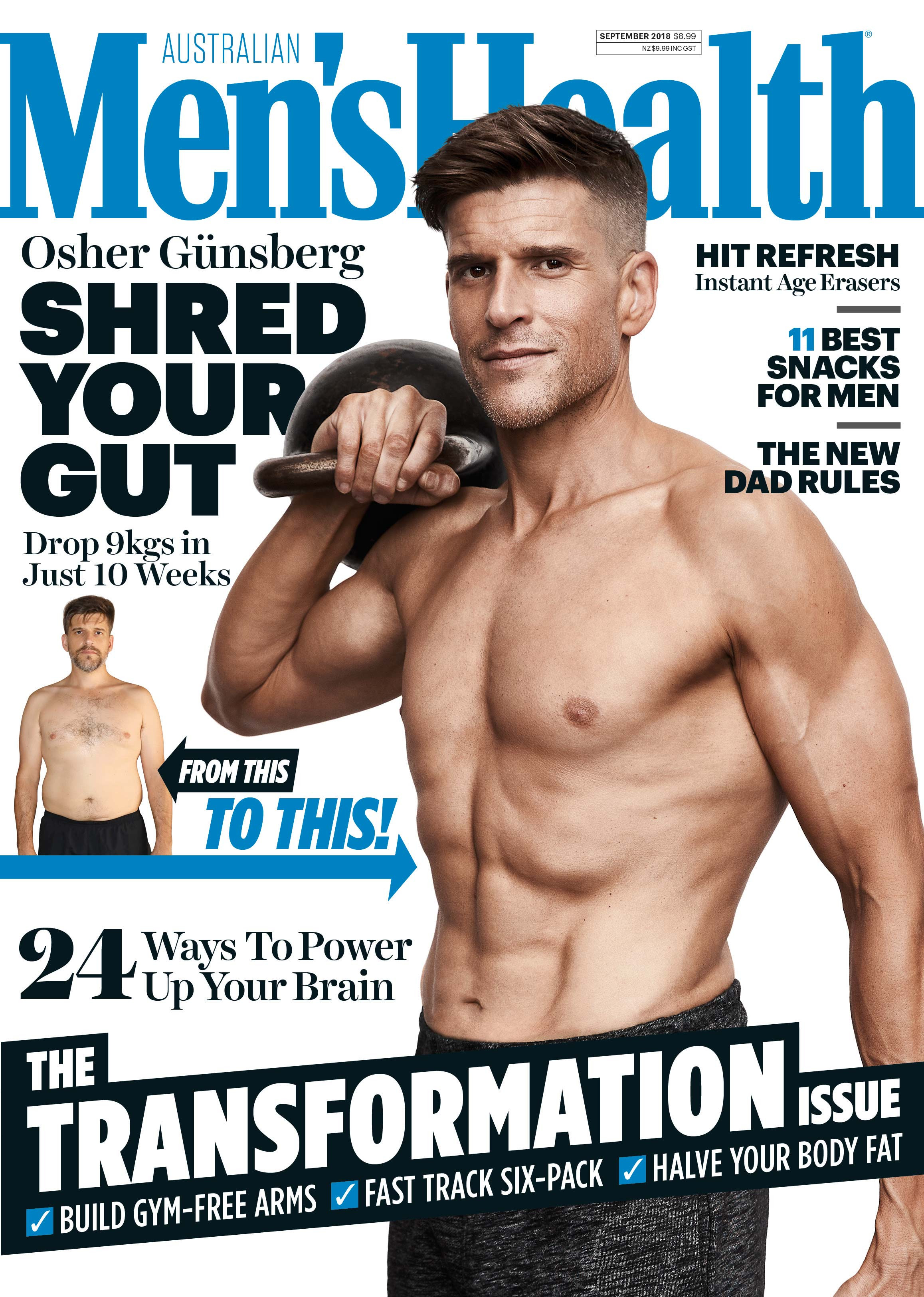 Osher Gunsberg, Men's Health