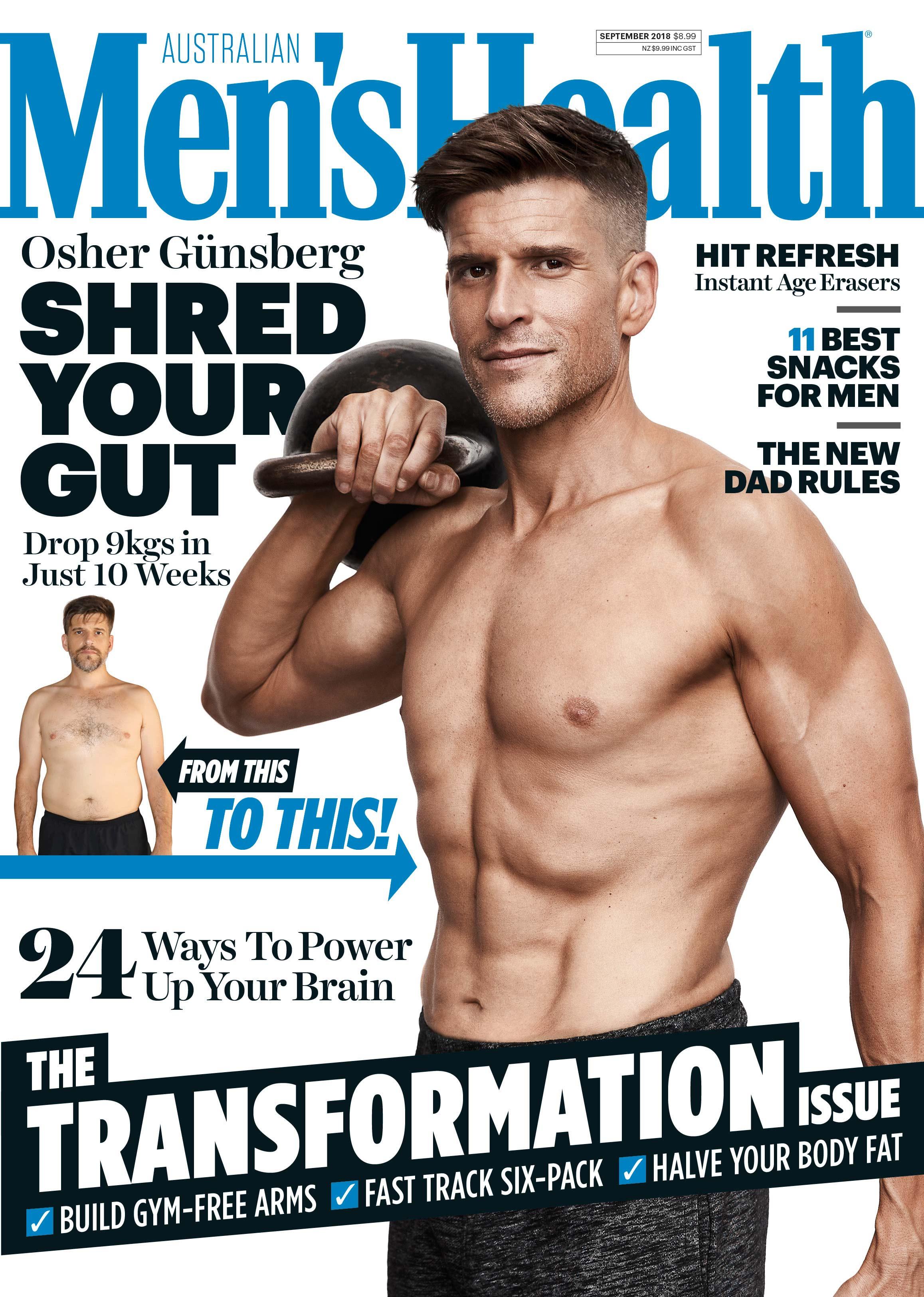 Osher Gunsberg, Men's Health