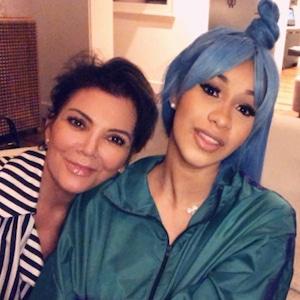 Cardi B., Kris Jenner, Kim Kardashian, Instagram