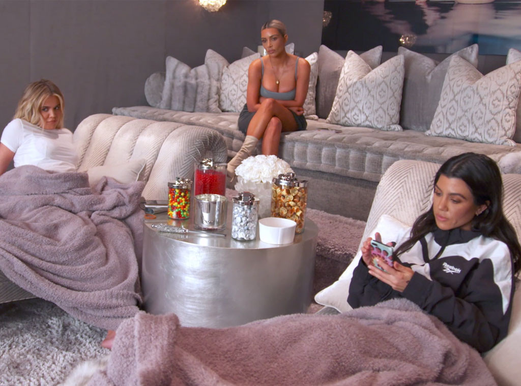 Kim Kardashian, Khloe Kardashian, Kourtney Kardashian, KUWTK 1502