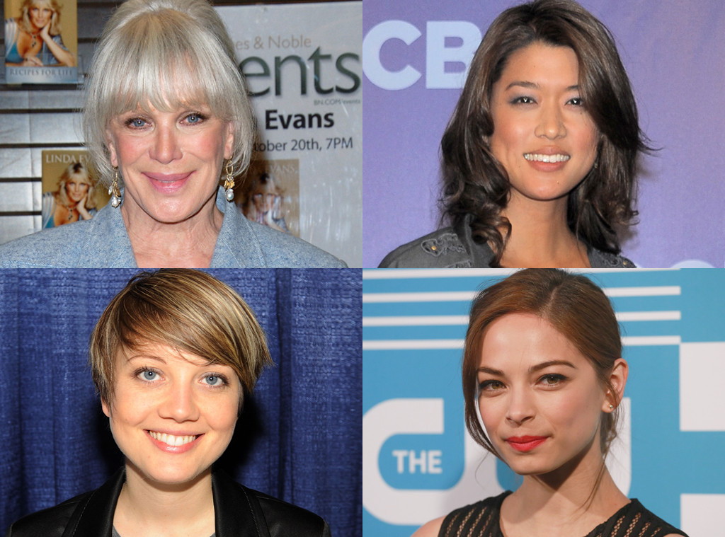 Linda Evans, Grace Park, Nicki Clyne, Kristin Kreuk