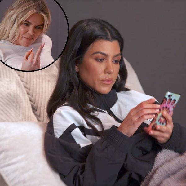 KUWTK, Keeping Up With The Kardashians, Khloe, Kourtney