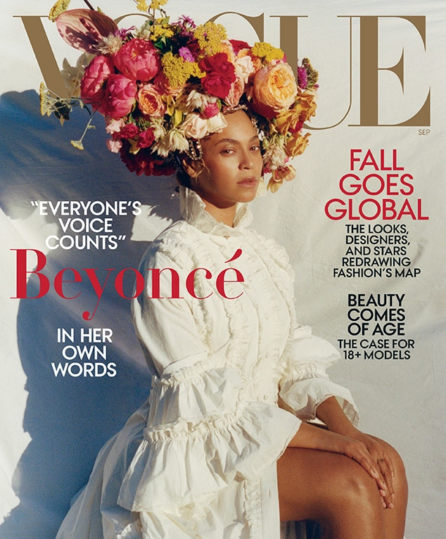 Twitter goes beserk: Beyoncé's iconic Vogue cover is here
