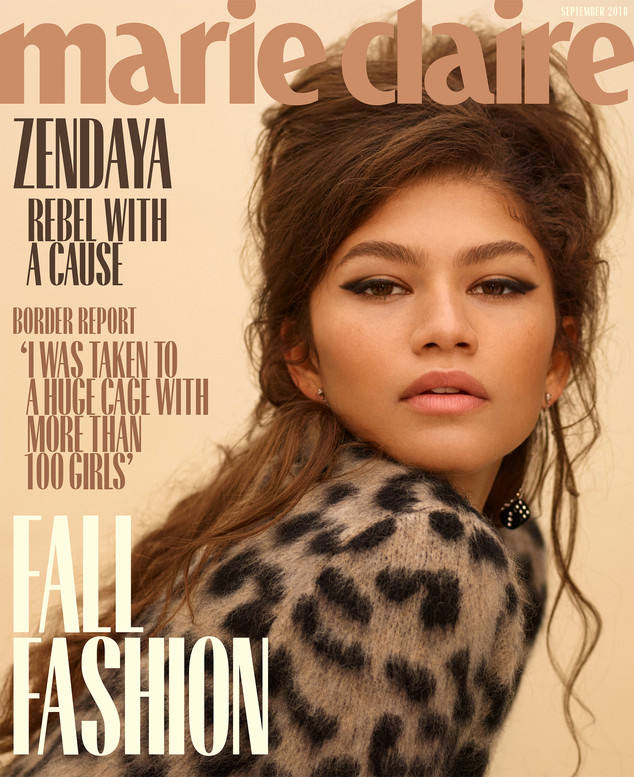 Zendaya, September Cover, Marie Claire