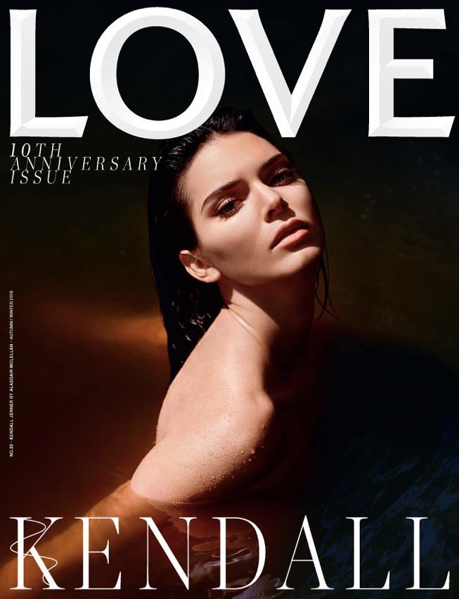 Kendall Jenner, LOVE Magazine