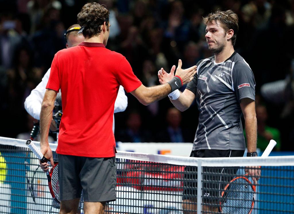 Star Wawrinka, Roger Federer