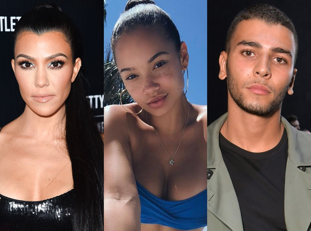 Kim, Khloe Kardashian throw shade at Kourtney's ex Younes Bendjima