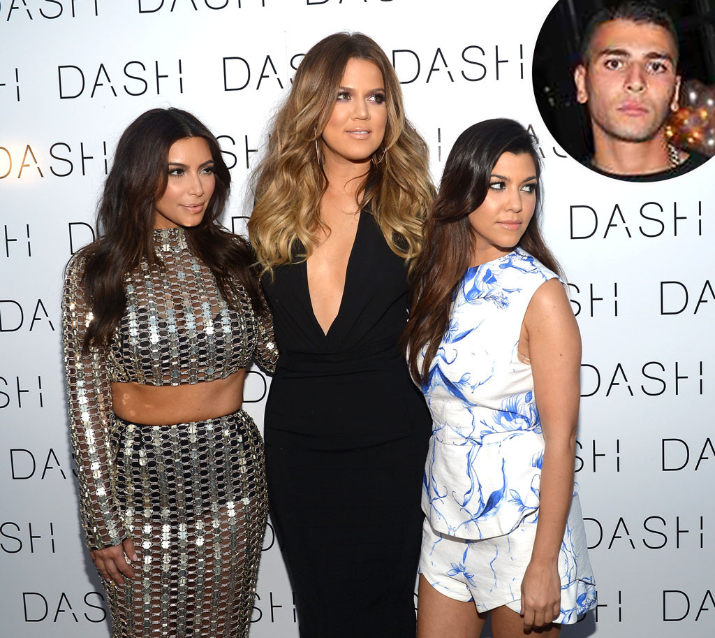 43237fea5052 Kim and Khloe Kardashian Aren't Impressed With Younes Bendjima After ...