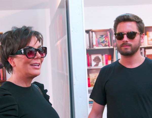 Scott Disick Gets Kris Jenner Back For Art Shaming Khloe Kardashian  E News-3121