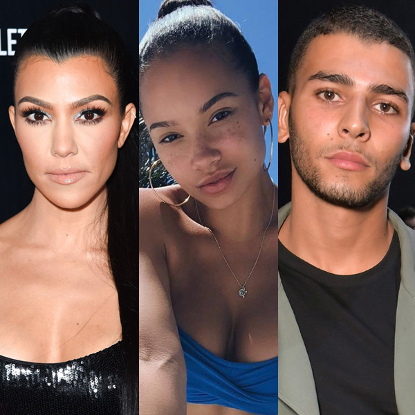 Kourtney Kardashian, Jordan Ozuna, Younes Bendjima
