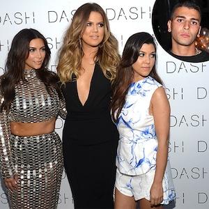 Kim Kardashian, Khloe Kardashian, Kourtney Kardashian, Younes Bendjima