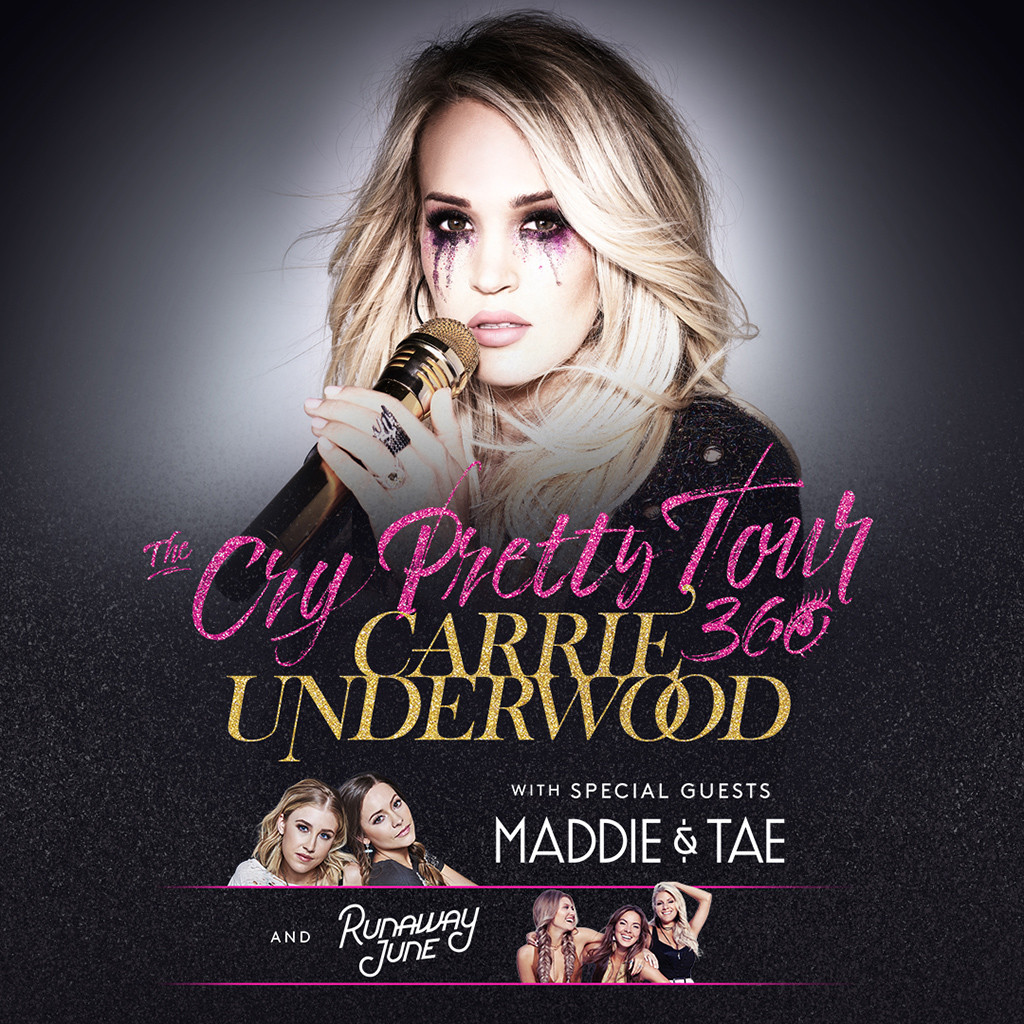 Carrie Underwood, Cry Pretty Tour 360