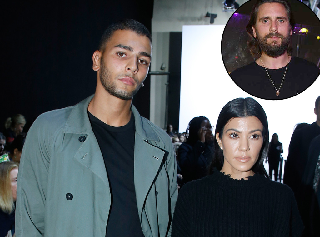 Younes Bendjima, Kourtney Kardashian, Scott Disick