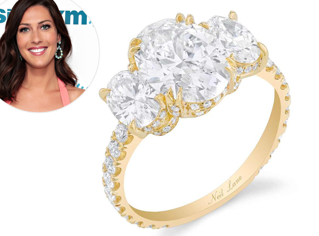 Becca Kufrin, The Bachelorette, engagement rings