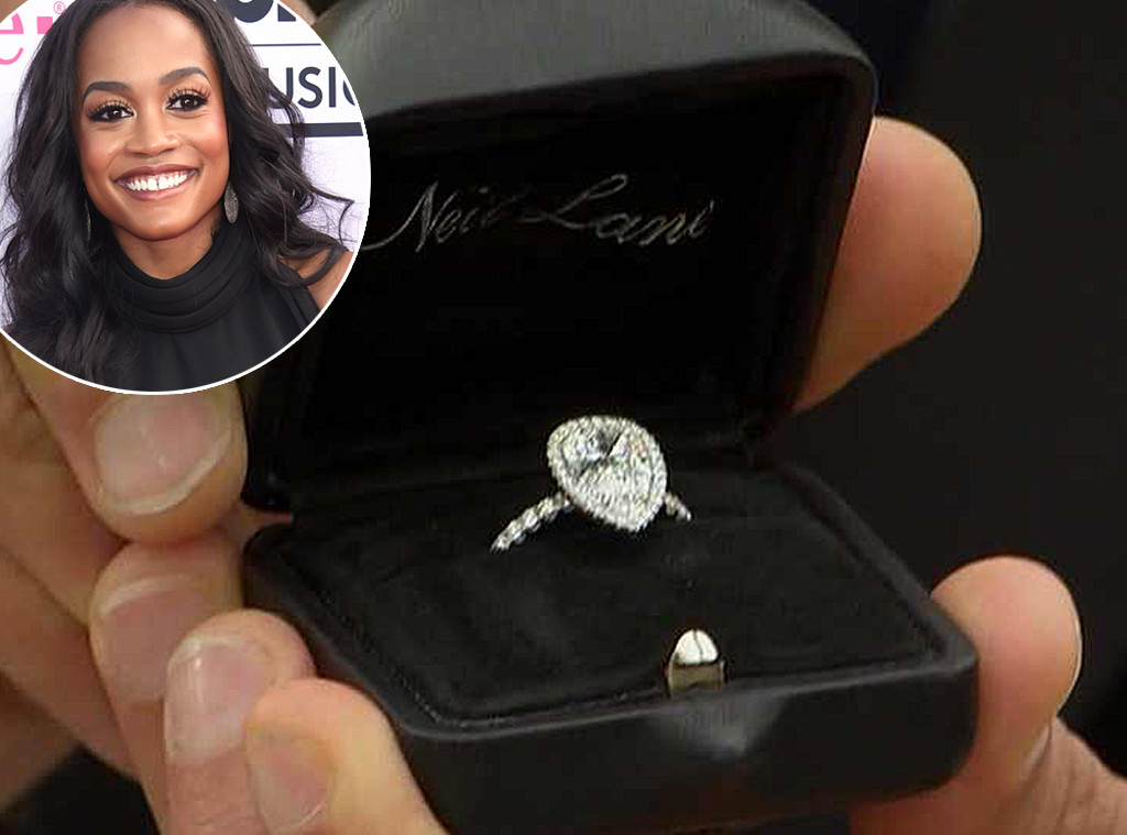 Rachel Lindsay, The Bachelorette, engagement rings