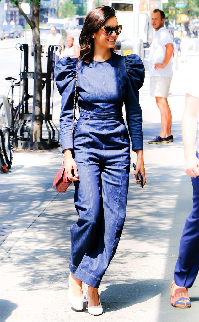Nina Dobrev Stuns In The 80s Trend That Princess Diana Loved E Online