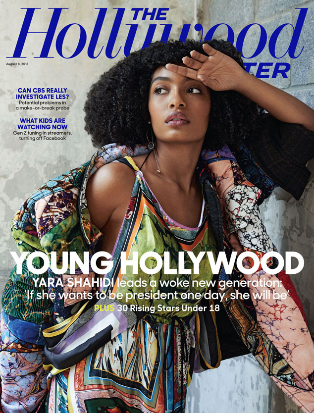 Yara Shahidi, The Hollywood Reporter