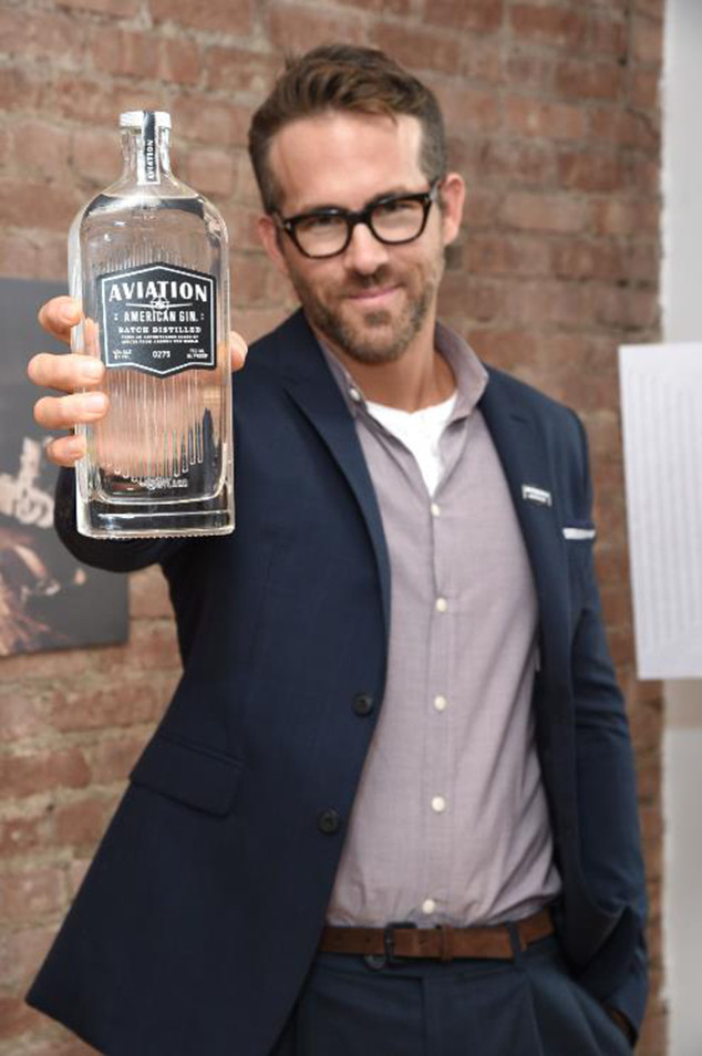 Ryan Reynolds, Aviation Gin Event