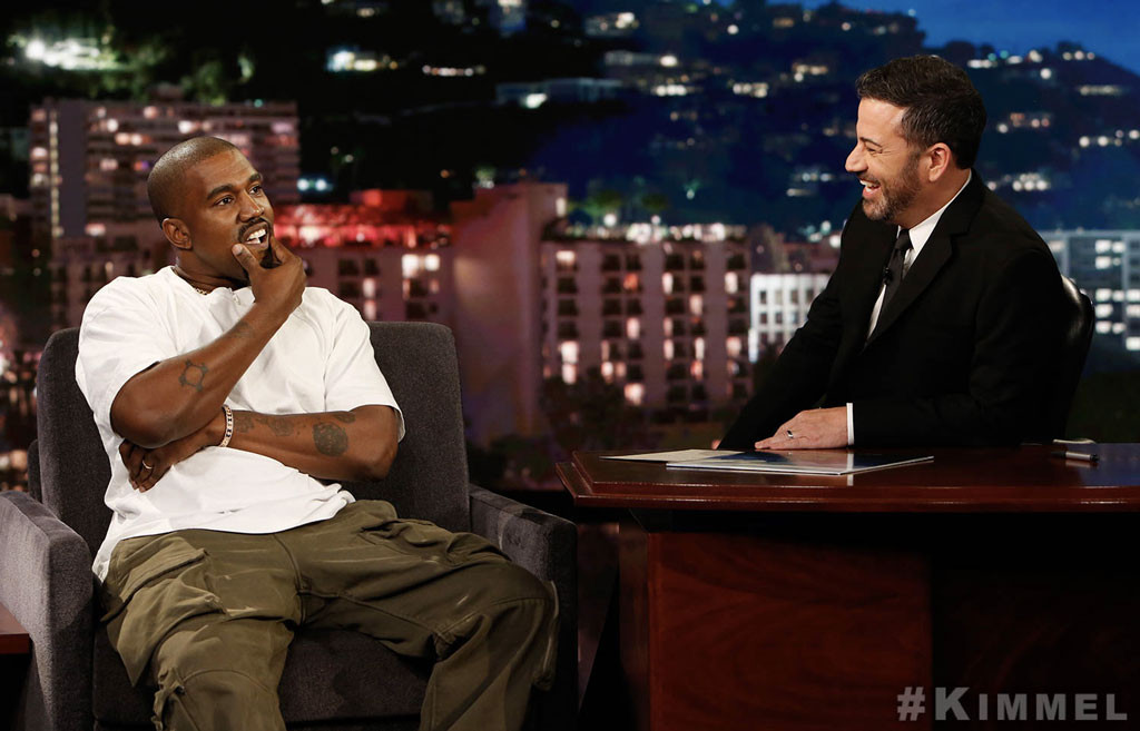 Kanye West, Jimmy Kimmel, Jimmy Kimmel Live