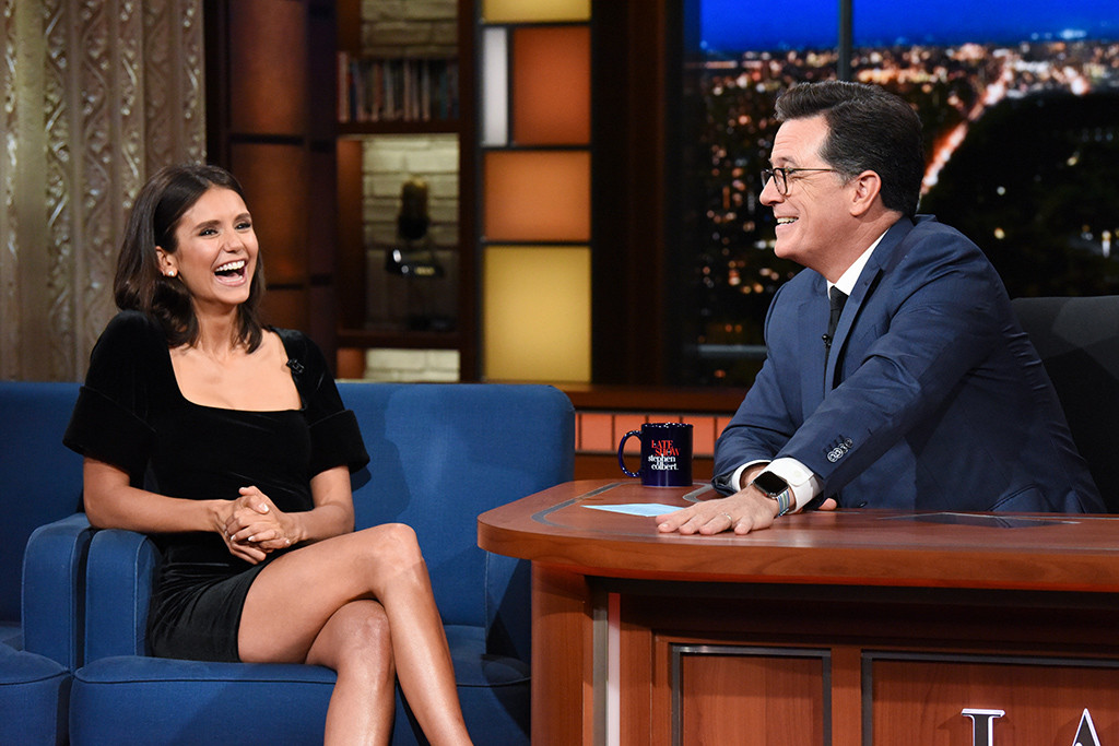 Nina Dobrev, The Late Show With Stephen Colbert