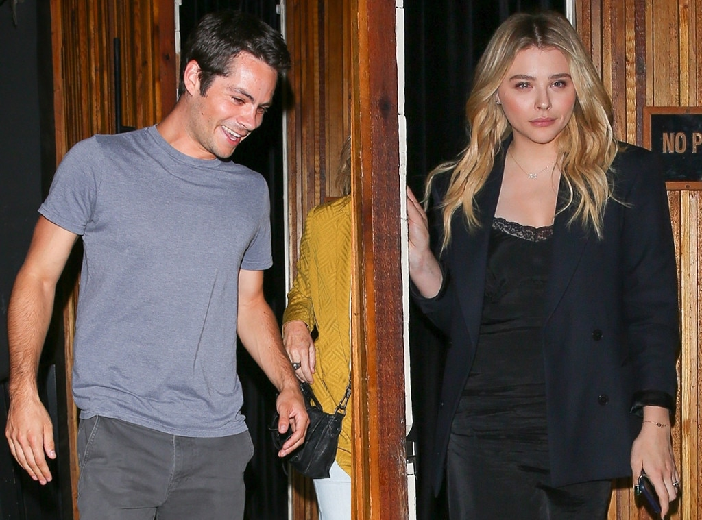 New Couple Alert? Dylan O'Brien Spotted with Chloë Grace Moretz