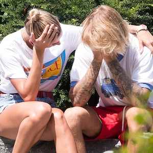 Justin Bieber, Hailey Baldwin, Crying