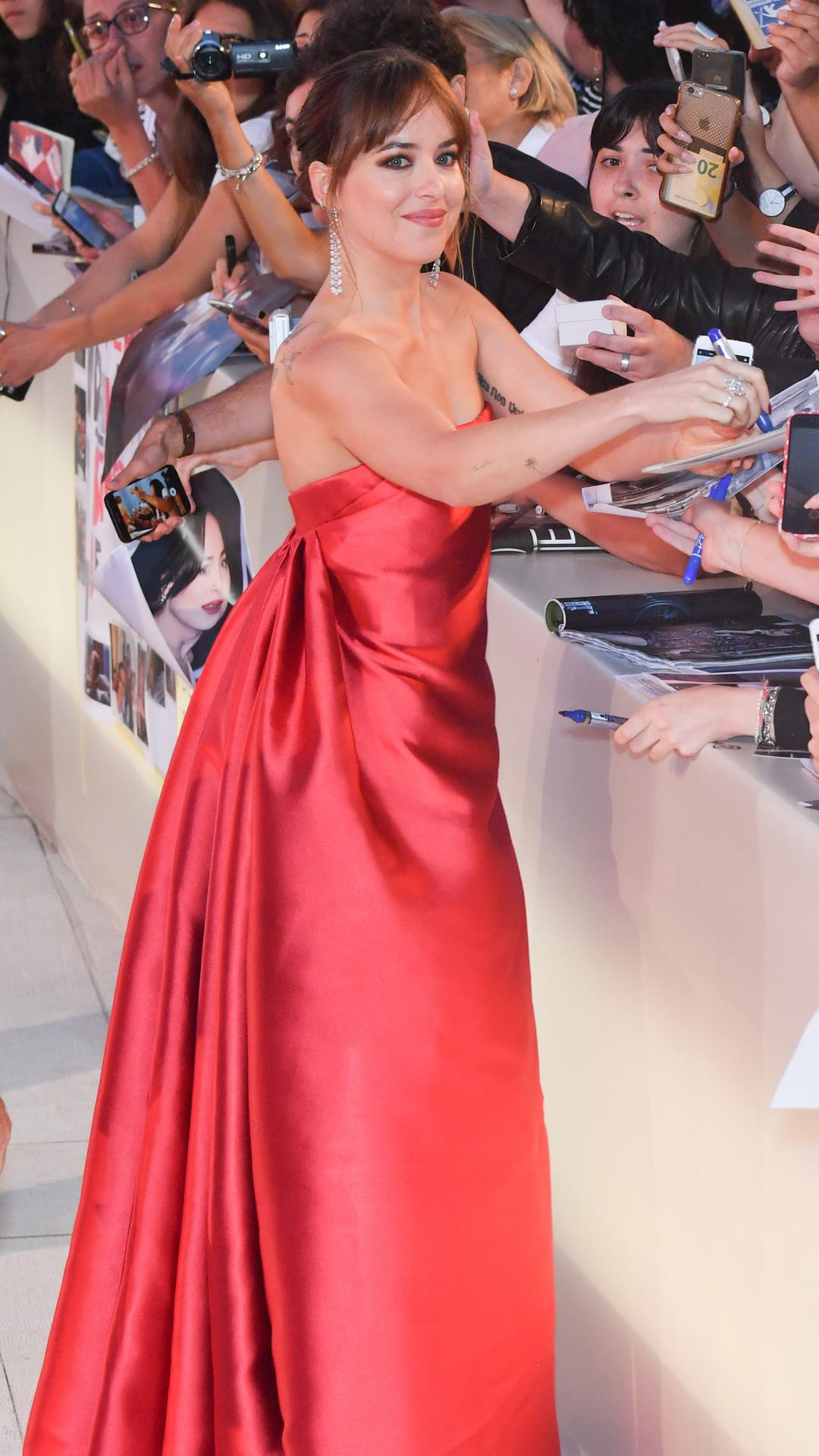 Dakota Johnson, Venice Film Festival