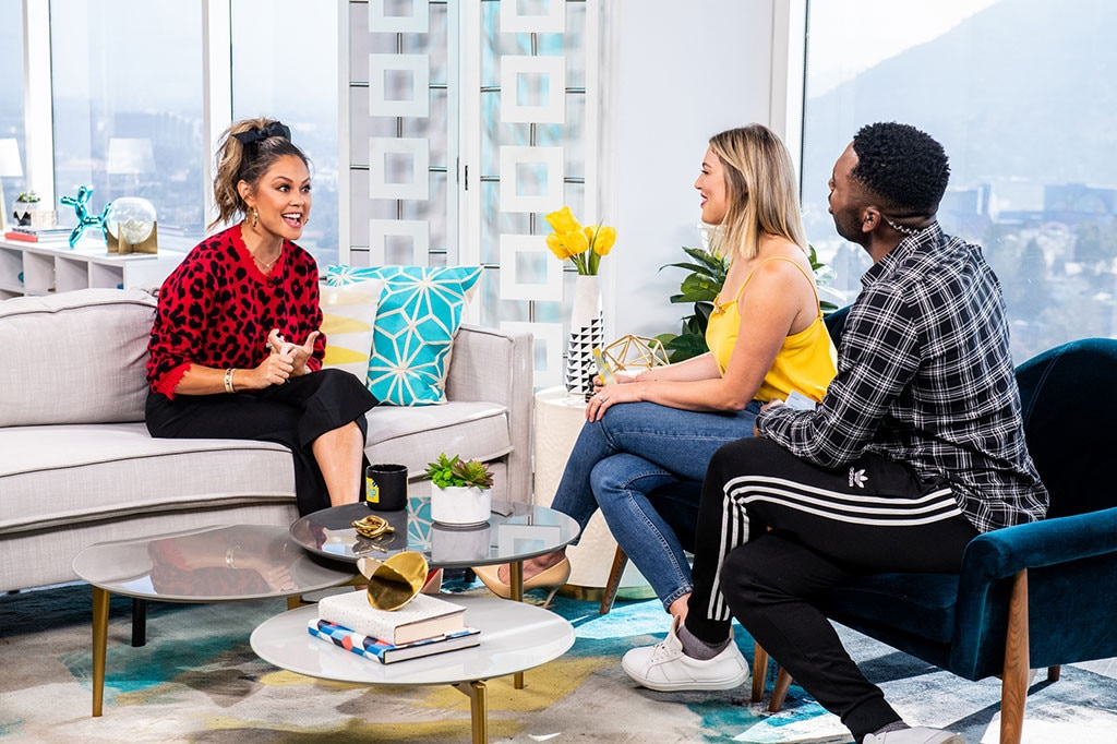 Vanessa Lachey -  The  Top Chef Junior  Host sits down for a chat with the  Daily Pop  personalities.