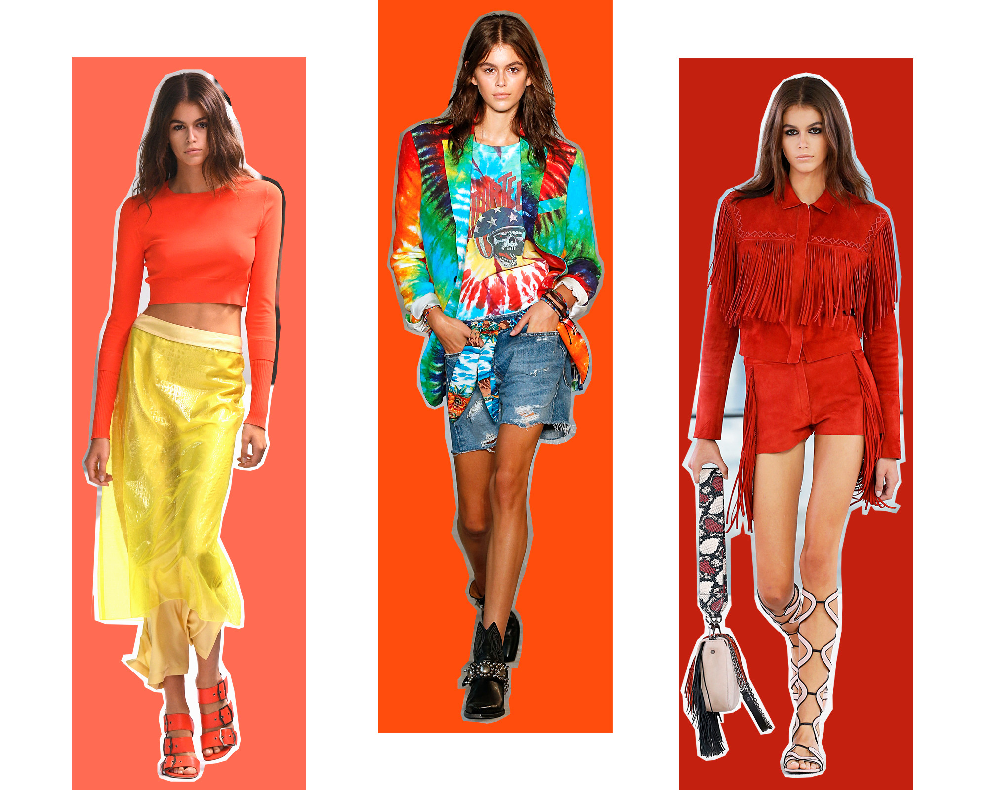 ESC: NYFW Best Looks, Kaia Gerber