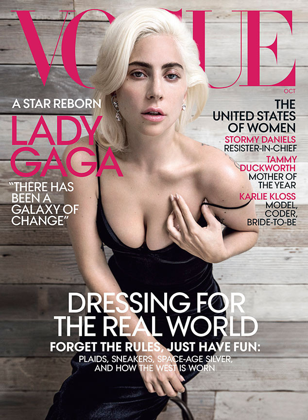 Lady Gaga, Vogue, October 2018