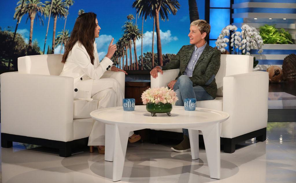Olivia Munn, Ellen DeGeneres