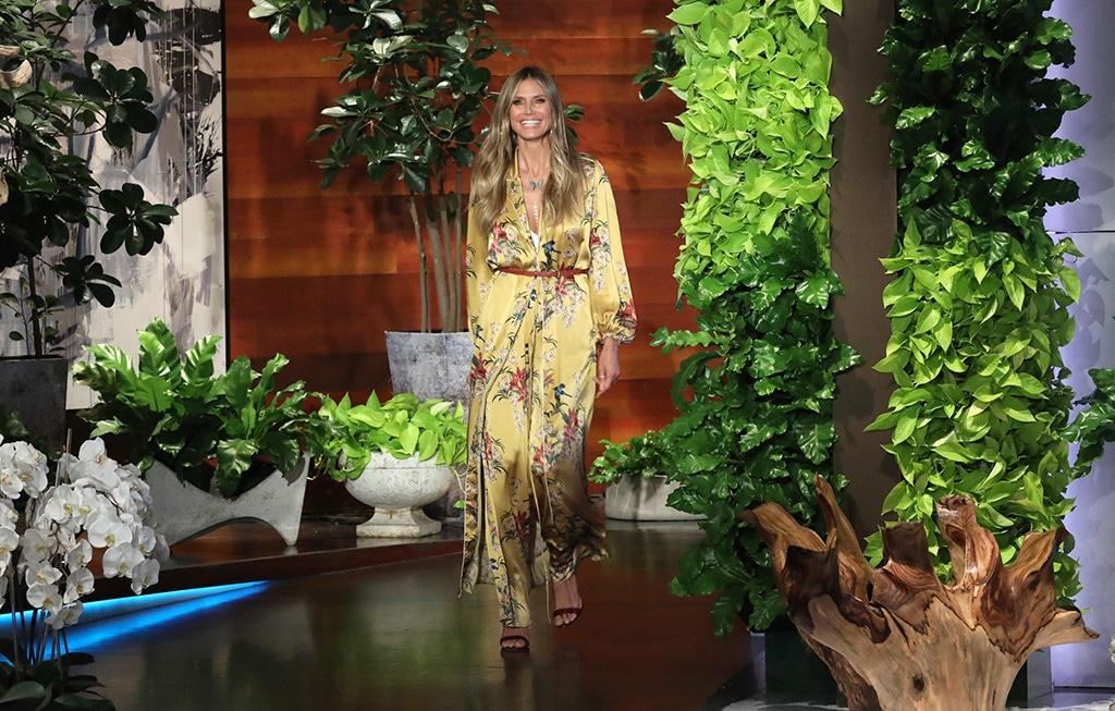 Heidi Klum, The Ellen DeGeneres Show