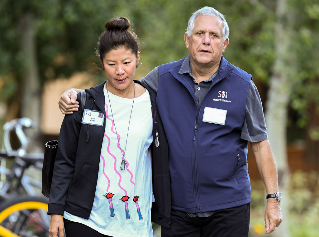 Leslie Moonves, Les Moonves, Julie Chen, 2018