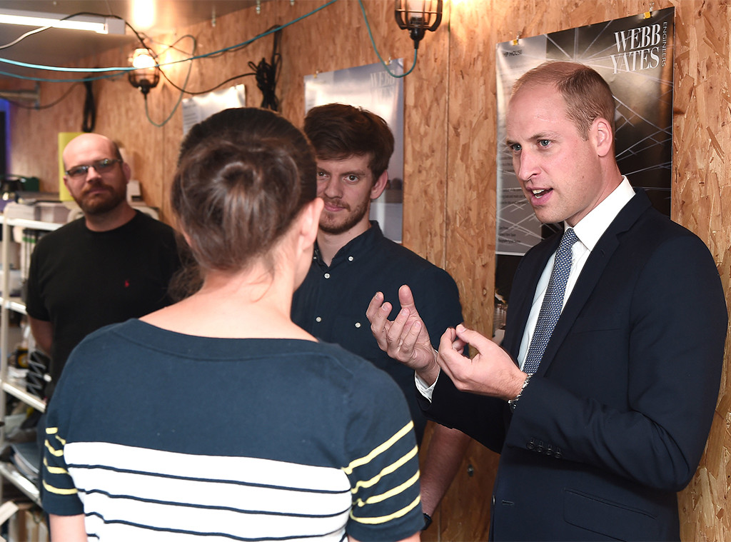 Prince William, Bristol Visit