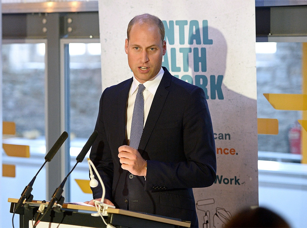 Prince William Gets Candid About His Own Mental Health Sturggles