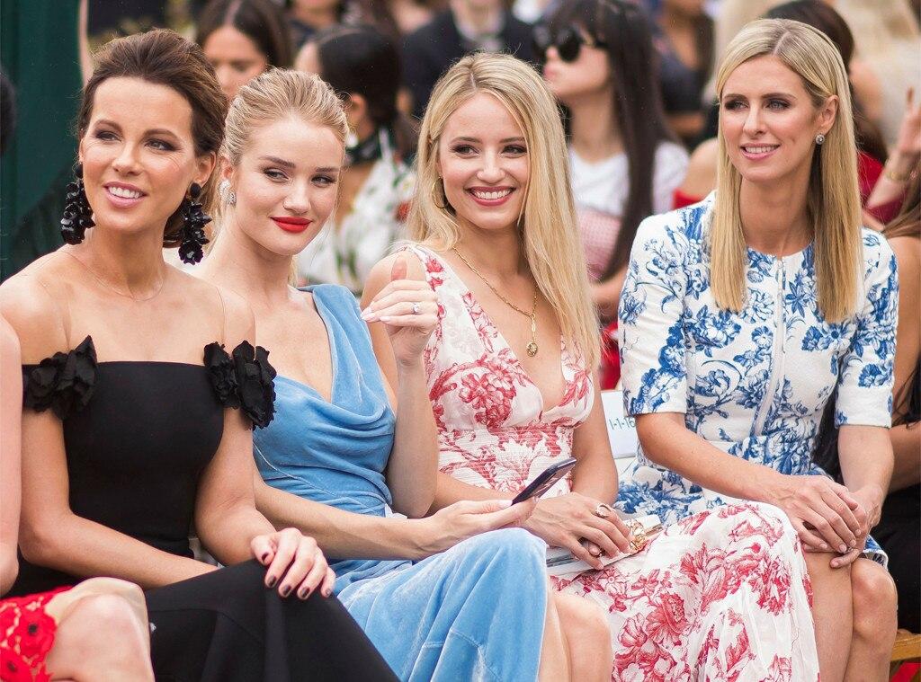 Kate Beckinsale, Rosie Huntington-Whiteley, Dianna Agron, Nicky Hilton Rothschild, New York Fashion Week