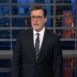 Stephen Colbert Takes on Les Moonves in <i>Late Show</i> Cold Open