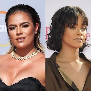 Karol G, Rihanna