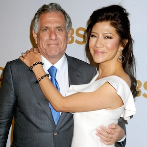 Leslie Moonves, Les Moonves, Julie Chen, 2015