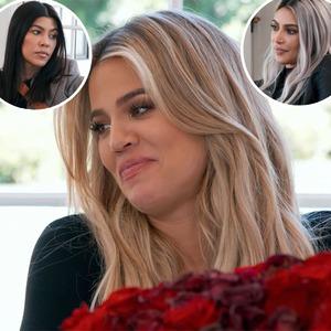 Khloe Kardashian, Kim Kardashian, Kourtney Kardashian, KUWTK