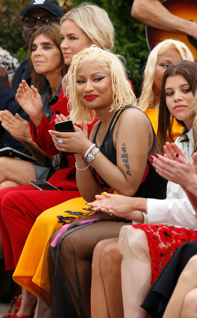 Nicki Minaj, Sofia Richie, NYFW