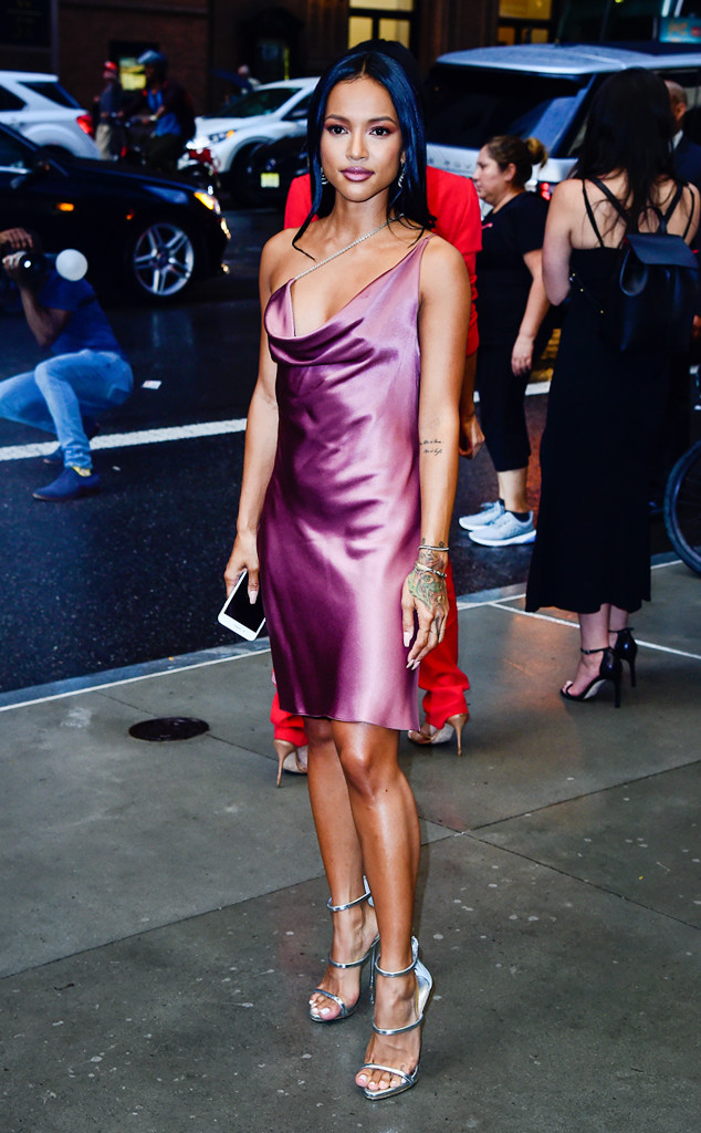 from chris brown s ex to front row stunner karrueche tran wins new