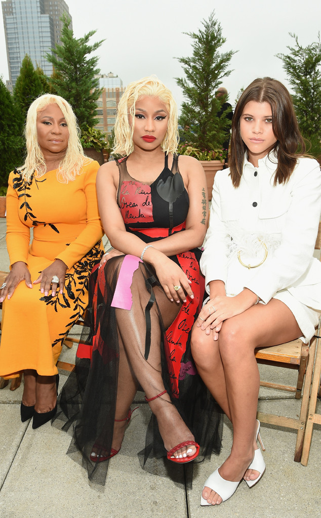 Carol Maraj, Nicki Minaj, Sofia Richie